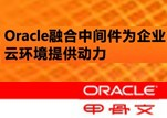 Oracle融合中间件为企业云环境提供动力 行业成功案例分享-0410