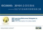 BSI组织的社会责任-ISO26000简介